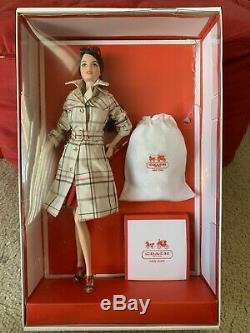 Nib Coach Barbie Collection Designer Étiquette Gold Limited 2013