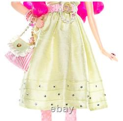 Nib Tarina Tarantino Barbie Poupée Gold Label 2008 Pink Hair L9602 Limited 14 400