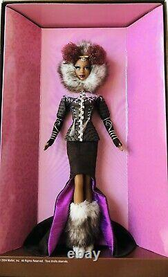 Nne Barbie Doll Treasures Of Africa Byron Lars African American Aa Limited Nrfb