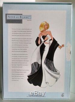 Noir Et Blanc Édition Limitée Conçu Barbie Collector Nrfb Avec L'expéditeur