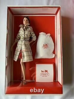 Nouveau Coach Barbie Gold Label Limited 2013 Sac À Main En Cuir
