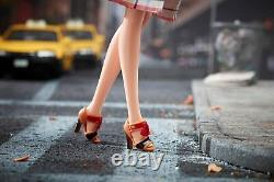 Nouveau Coach Barbie Gold Label Limited 2013 Sac À Main En Cuir X8274