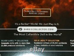 Nouveau Poupée Barbie Comme Athena Gold Label 5.300 Limited Edition 2009 Nrfb Déesse