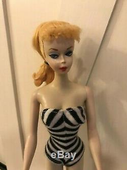 Nouveau Prix. 10% De Réduction Pour Un Temps Limité! Barbie, Millésime, Queue De Cheval N ° 1