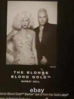 Nouvelle Barbie Limitée, The Blonds, Blond Gold Barbie Doll Gold Label Collection