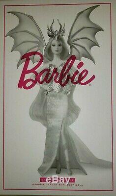 Nouvelle Barbie Signature Du Dragon Empress Doll Mythique Muse Gold Label Dragon Limitée
