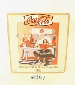 Nouvelle Fonction Barbie Coca Cola Soda # 26980 2000 Édition Limitée Mattel