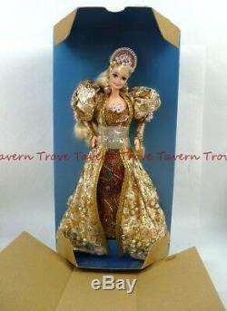 Nrfb 1994 Or Jubilee Limited Edition Barbie # 9997 5000 + Expéditeur