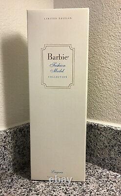 Nrfb 2000 Gold Label Barbie Silkstone #3 Lingerie Bfmc #29651 Edition Limitée