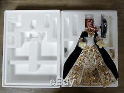 Nrfb 2001 Porcelaine Faberge Imperial Grace Poupée Barbie Limitée Ed. Avec Boîte D'expédition