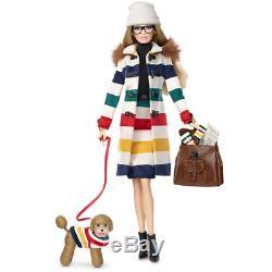 Nrfb 2016 Barbie Hudson's Hudson Bay Co. Doll Doll Silver Edition Limitée Djn09