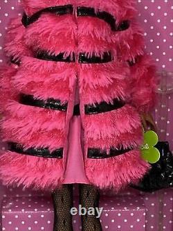 Onff Avec Shipper Box Silkstone Fuchsia N Fur Francie Doll Limited Edition
