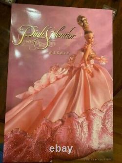 Pink Splendor Barbie With Rare Shipper Box Nrfb #07239 De 10 000 Édition Limitée