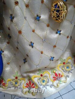 Porcelaine Silkstone Bob Mackie Fabergé Imperial Elegance Barbie Doll Limitée