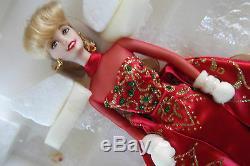 Poupée Barbie Bisque En Porcelaine Fine Cadeau De Vacances Édition Limitée