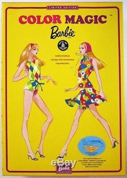 Poupée Barbie Blonde Color Magic (édition Limitée) 2004 Convenez Du Vœu Mini