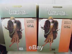 Poupée Barbie En Porcelaine Bob Mackie Charleston Édition Limitée