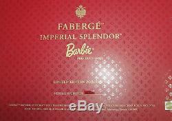 Poupée Barbie En Porcelaine Faberge Imperial Splendor 2000 Édition Limitée 01528
