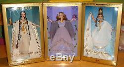 Poupée Barbie Ensemble De 3 Classiques Goddess Collection Limited Ed. Nrfb Xb700