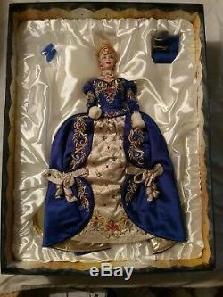 Poupée Barbie Faberge Imperial Elegance En Porcelaine Édition Limitée # 07207