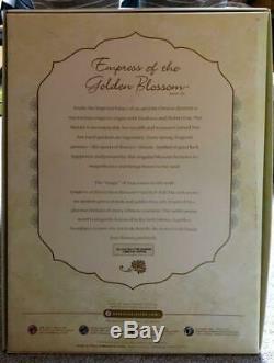 Poupée Barbie Gold Label Empress Of Golden Blossom Monde 4700 Limitée Rare
