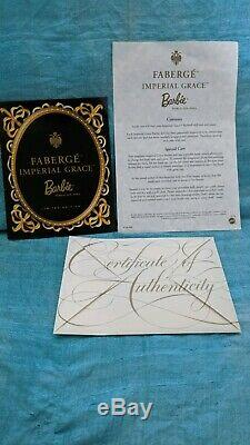 Poupée Barbie Imperial Grâce Porcelain Mattel Limited Edition Fabergé No. 52738
