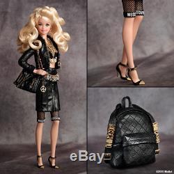 Poupée Barbie Moschino Blonde En Édition Limitée Nrfb New Mattel Net-a-porte