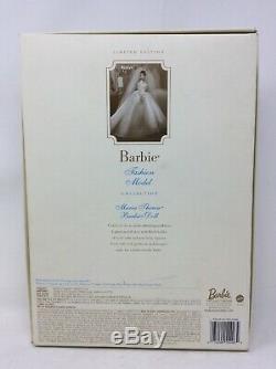 Poupée Barbie Silkstone Maria Thérèse Mariage Mariée 2001 Edition Limitée
