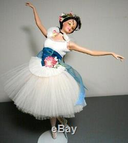 Prima Ballerina Léger Que L'air En Porcelaine Poupée Barbie 2001 Limited Edition