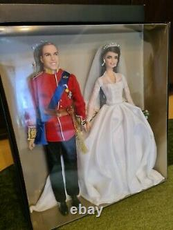 Prince William & Kate Middleton Barbie Mattel Edition Limitée Aus Deutschland