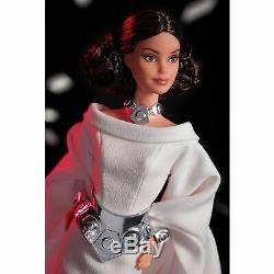 Princesse Leia Barbie Doll X Star Wars Limited Edition Gold Label Précommande