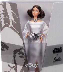 Princesse Leia Barbie X Étoile Wars- Limited Edition -preorder Arrivant Bientôt