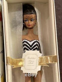 Rare! 2008 Silkstone Afro-américaine Barbie Limited Edition Débuts Nrfb