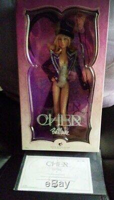 Rare Cher Barbie Blonde Ringmaster Poupée Toys R Us Limited Edition! Platine