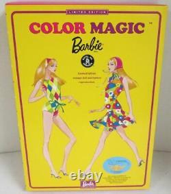 Rare Couleur Magic Blonde Barbie Doll (édition Limitée)2004 Grant A Wish Mini C