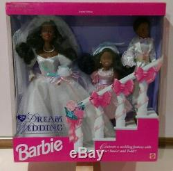 Rêve De Mariage Barbie Stacie Todd Aa Limited Edition 1993 Mattel 10713 Gift Set