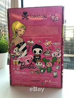 Signé Tokidoki Barbie Doll Avec Édition Limitée Bastardino 2011 Gold Label