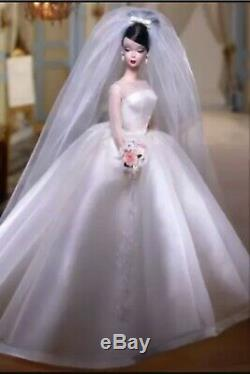 Silkstone Maria Therese Barbie Doll # 55496 Mattel Mattel 2002 Nrfb Limitée Ed