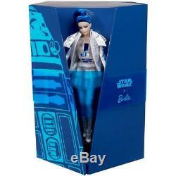 Star Wars X R2d2 Barbie Avec Shipper Ght79 Limitée Ed. En Main Livraison Gratuite