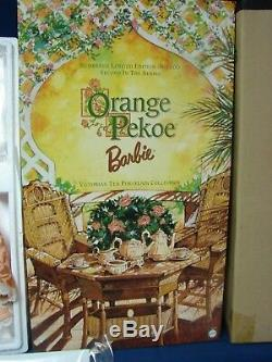 Thé D'orange Pekoe Barbie Collection De Porcelaines En Porcelaine, Édition Limitée. 4000 Mailer