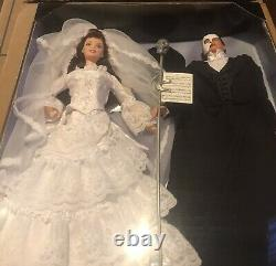 The Phantom Of The Opera Barbie And Ken Gift Set (édition Limitée) #20377 Nib