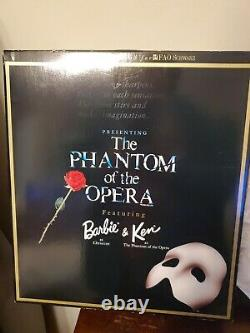 The Phantom Of The Opera Barbie & Ken Gift Set Fao Schwarz Limited Edition (d7)