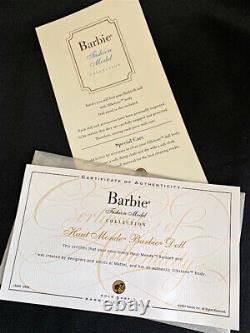 Toute Nouvelle Silkstone Barbie Haut Monde Gold Label Nrfb Limited Edition