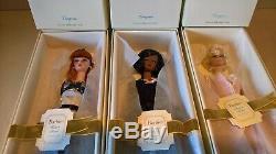 Trio De Poupées Silkstone Barbie, Édition Limitée Lingerie, En Groupe De 3, Mattel