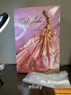 Vhtf 1996 Pink Splendor Limited Edition Barbie 10 000 Dans Le Monde Entier. Numéro 16091
