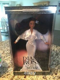 Vintage 2003 Barbie Diana Ross Doll Bob Mackie Limited Edition Mattel Nib
