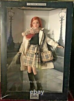 Vintage Barbie Doll 2000 Burberry Limited Édition 29421