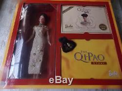 Vintage Barbie Or Qi-pao 1998 Anniversary Limited Edition Hongkong Nrfb