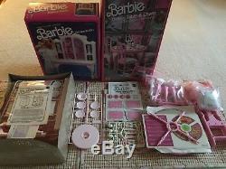 Vintage Original 1985 Barbie Dream House - (meublé) À Durée Limitée
