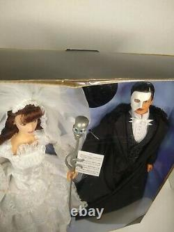 Vtg Phantom Of The Opera Barbie And Ken Gift Set Fao Schwarz Limited Edition Nib